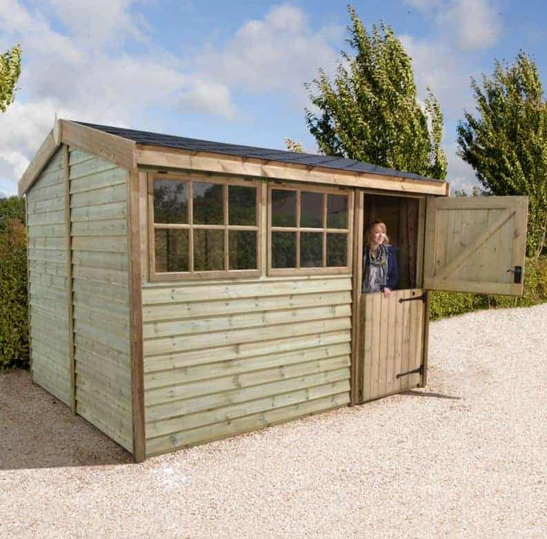 6' x 8' Shed Republic Ultimate Barnstyle Shed - Stable Door (1.88m x 2.49m)