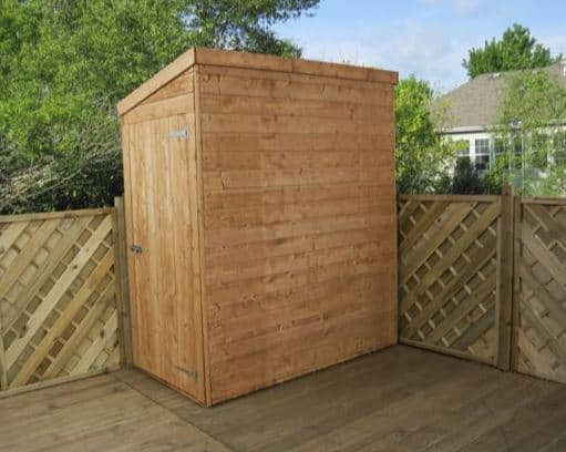 3' x 2' Forest Tall Wooden Sentry Box Shed (0.95m x 0.59m)