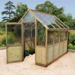 Victorian Greenhouse - 9 x 6 Ultimate Half Boarded Victorian Greenhouse