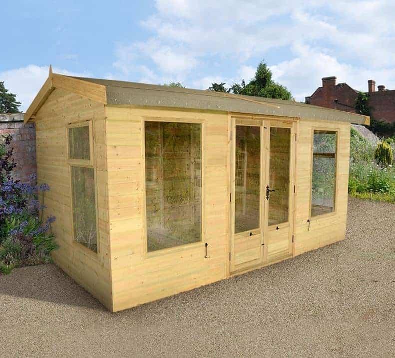 10x8 Champion Harvington Luxury Wooden Summerhouse