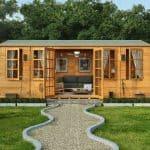 Bespoke Summer Houses - BillyOh 6000 Diplomat Premium Reverse Apex Bespoke Summer Houses