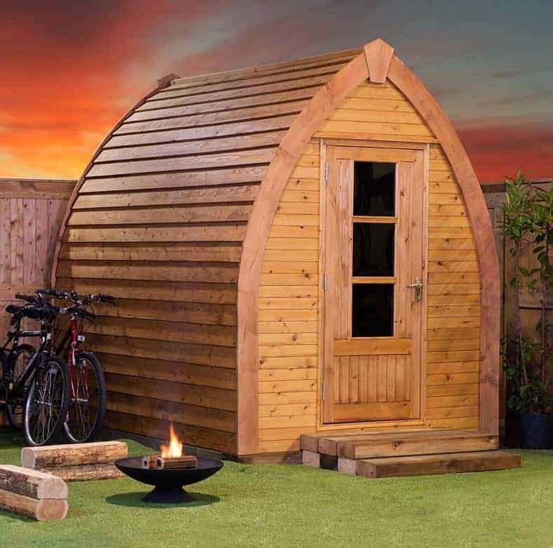 Custom Outdoor Sheds : Custom Sheds  6 x 8 Ultimate Garden Pod Custom Sheds