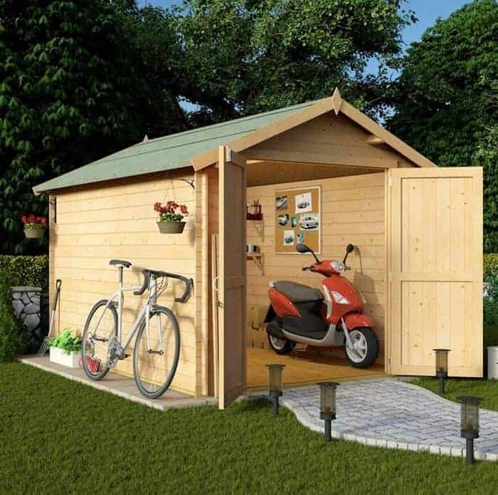 BillyOh 10 x 8 Windowless Heavy Duty Custom Sheds