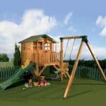 Kids Playhouses - 12 x 13 Waltons Honeypot Poppy Tower Activity Center Kids Playhouses