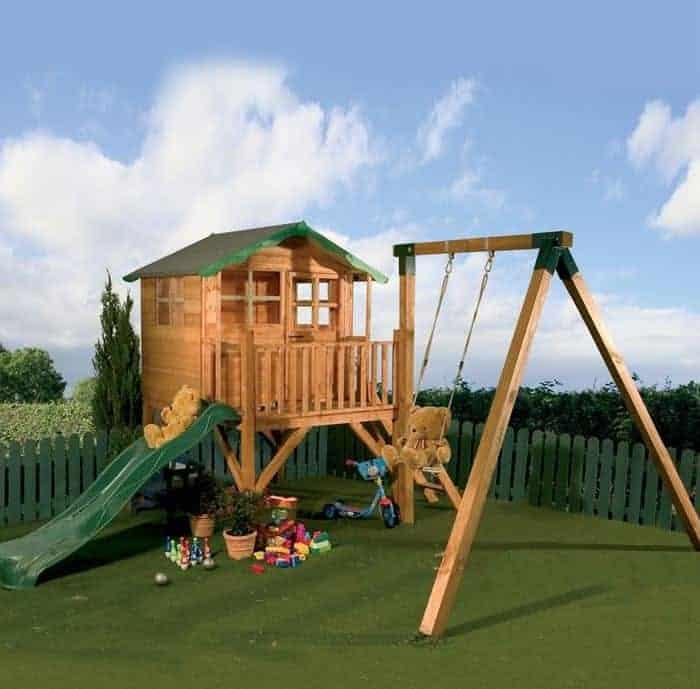 12 x 13 Waltons Honeypot Poppy Tower Activity Center Kids Playhouses