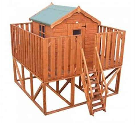 Waltons Honeysuckle Tower Wooden Playhouse