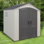 Lifetime Storage Sheds - 7 x 7 Heavy Duty Plastic Lifetime Storage Sheds