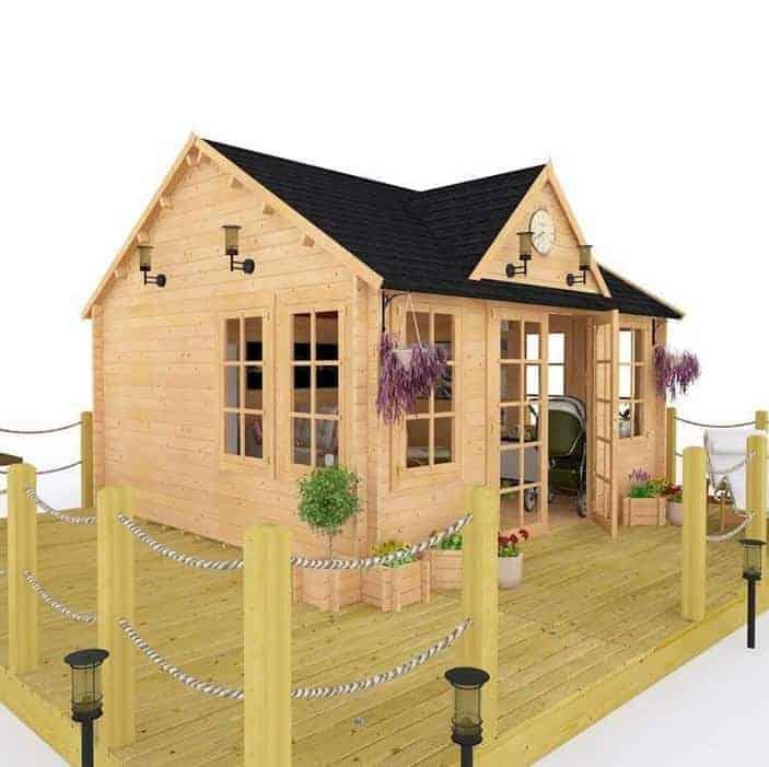 BillyOh Village Hall Luxury Log Cabins