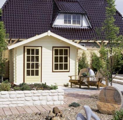 Mira Timber Log Cabin Shed 3.88m x 2.98m, 28mm