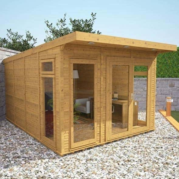 Waltons Insulated Garden Room Luxury Log Cabins