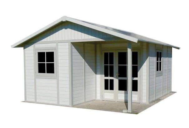 Palmako Irene 5.3m x 5.7m Log Cabin Garden Building (44mm)