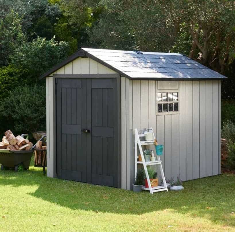 Great Value Keter Oakland 7ft 6 x 9ft 4 (2.3 x 2.9 m) Shed