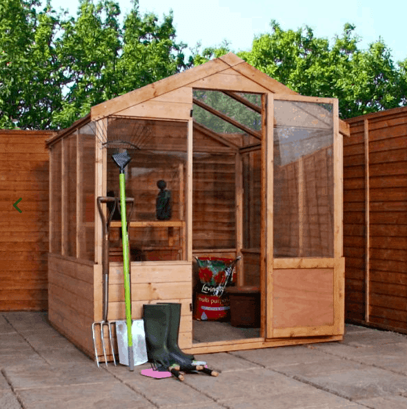 6'x4' Forest Vale Victorian Wooden Greenhouse