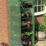 Walk In Greenhouse - 5 x 3 Gardman Compact Walk In Greenhouse