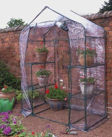 Kingfisher GHWIXL Giant Walk-In Greenhouse - Green