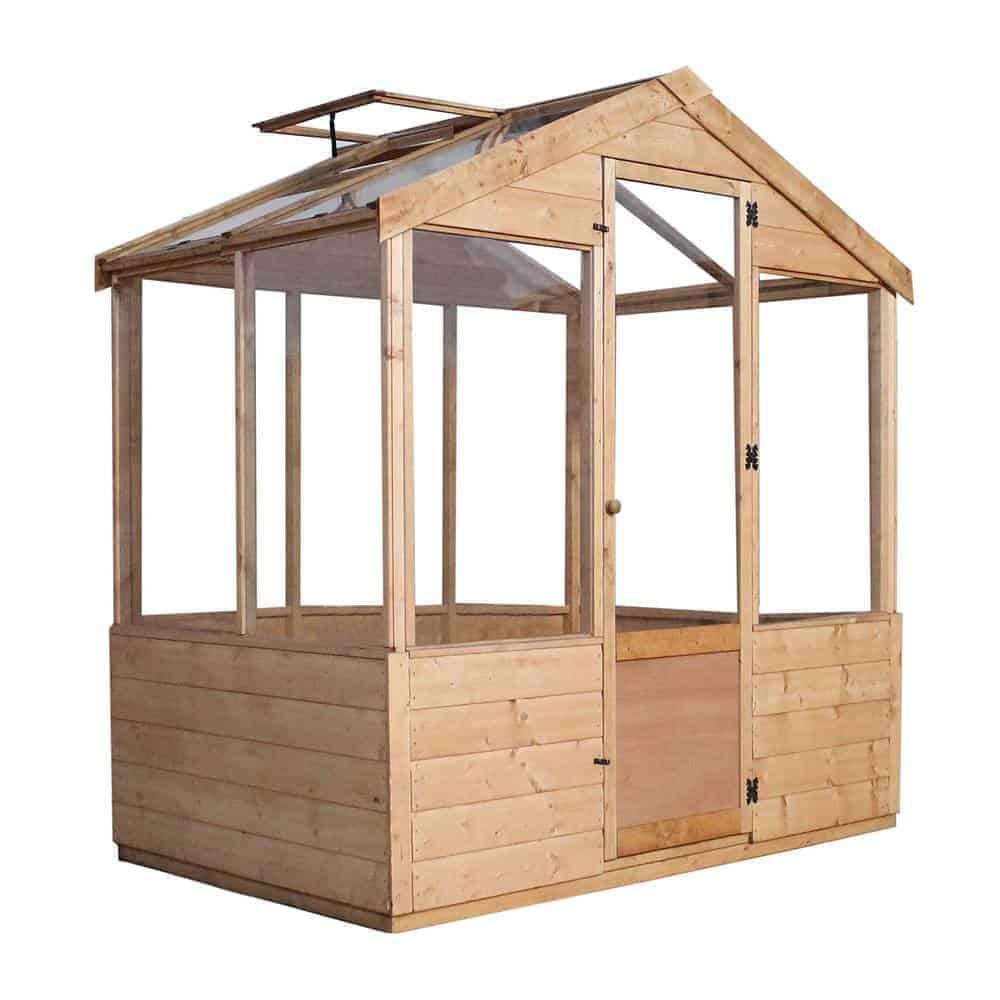Walton's Evesham Wooden Greenhouse