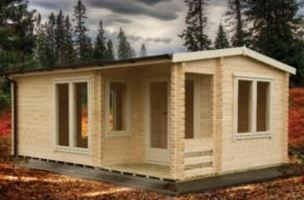 Adley 5m x 4m Dorchester Log Cabin