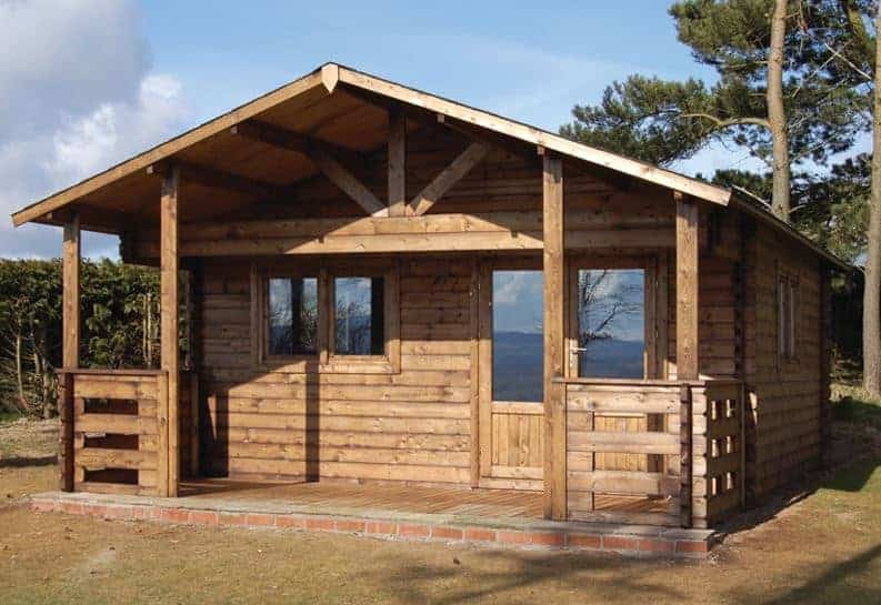 Palmako Britta 5.1m x 4.5m Log Cabin Garden Building (40mm)
