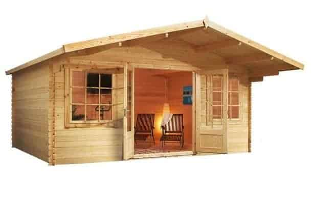 The Camellia 5m x 5m Log Cabin