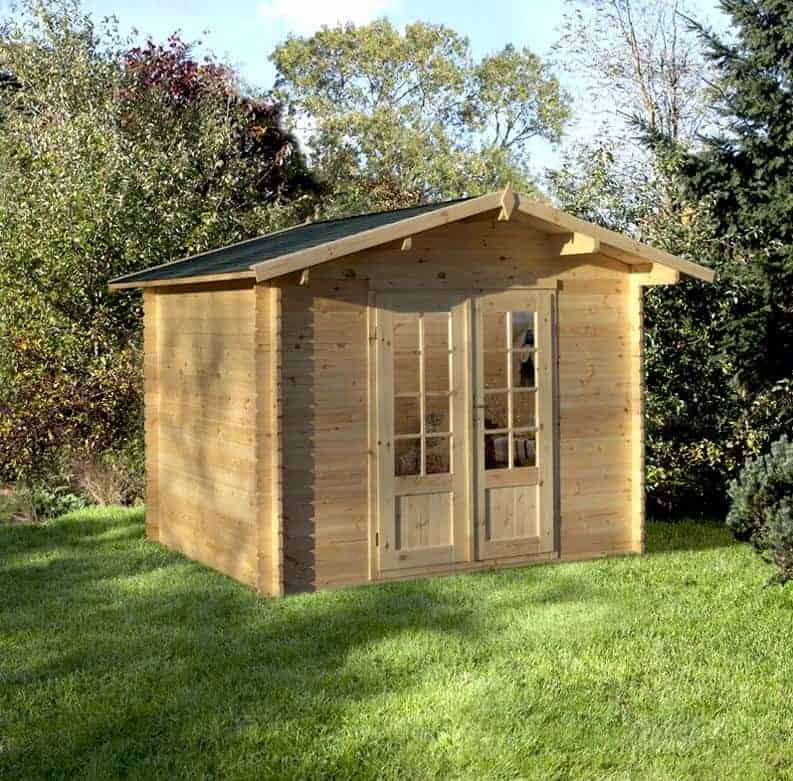 Palmako Klara 3m x 2m Log Cabin Summerhouse (28mm)