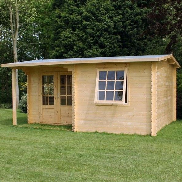 Adley 6m x 5m Dorchester Log Cabin