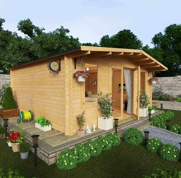 BillyOh Winchester Garden Log Cabins