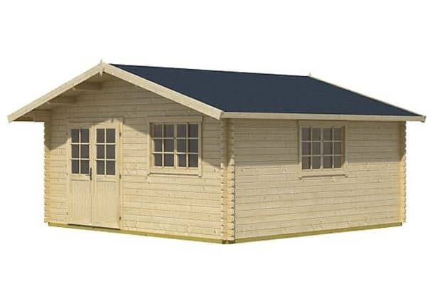 The Noble 5m x 4m Log Cabin