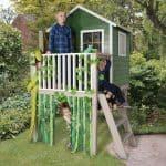 Boys Playhouse - 4 x 4 Play-Plus Charlie Tower Boys Playhouse