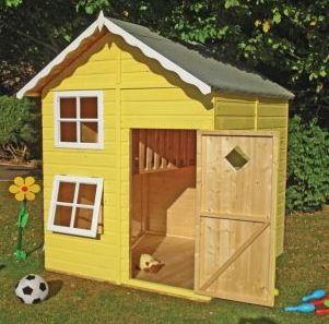 Loxley 5' x 5' Mint Playhouse