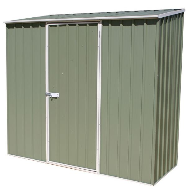 7'5 x 2'7 Waltons Pale Eucalyptus Easy Build Pent Cheap Storage Sheds