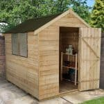 Cheap Storage Sheds - 8 x 6 Shed-Plus PT Overlap Cheap Storage Sheds
