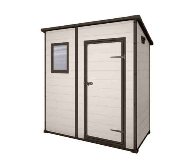 Keter Manor Pent Outdoor Plastic Garden Storage Shed