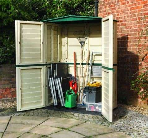 Charming Rowlinson Plastic Tall Store Cheap Garden Sheds