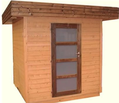 10 x 10 Garden Room Home Office Pressure Treated Pent Overhung Lounge Summerhouse Shed with Opening Windows and 11mm Tongue and Groove Floor