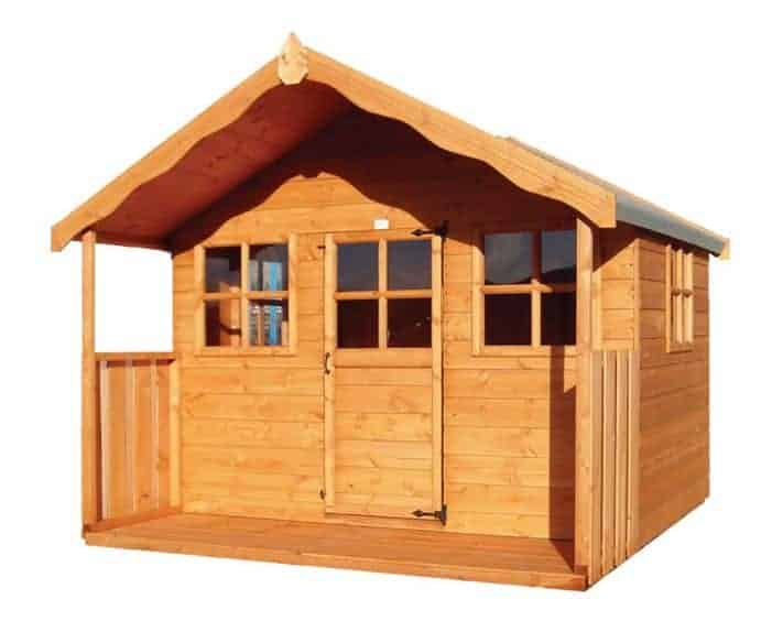 6x5 Shire Pixie Kids Wooden Playhouse