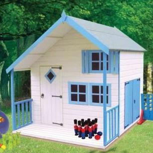 Loxley 7' x 8' Bubblegum Playhouse