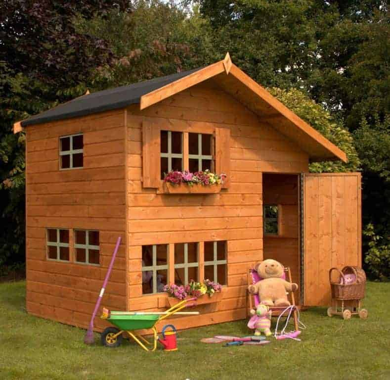 6x8 Windsor Bramble Cottage Childrens/ Kids Wooden Garden Playhouse
