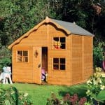 Cottage Playhouse - 8 x 7 Rowlinson Playaway Swiss Cottage Playhouse