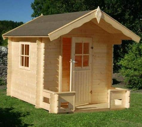 Loxley 6' x 7' Fudge Playhouse