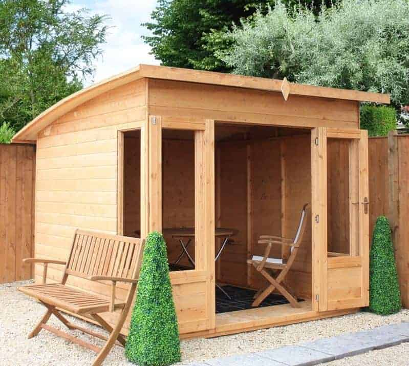 8x8 Windsor Helios Contemporary Wooden Summerhouse