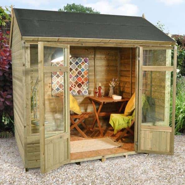 Hartwood 8 x 6 Fairford Garden Office