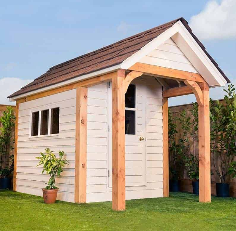 12' x 6' Traditional Heavy Duty Apex Wooden Garden Shed (3.66m x 1.83m)
