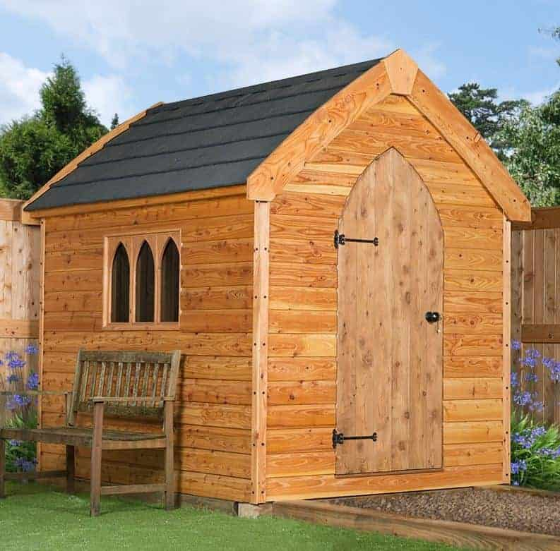 8' x 8' Traditional Heavy Duty Apex Shed (2.44m x 2.44m)