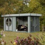 Garden Office Pod - Rowlinson Connor Corner Garden Office Pod