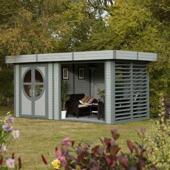 Garden office pod who has the best garden office pod for Corner garden office
