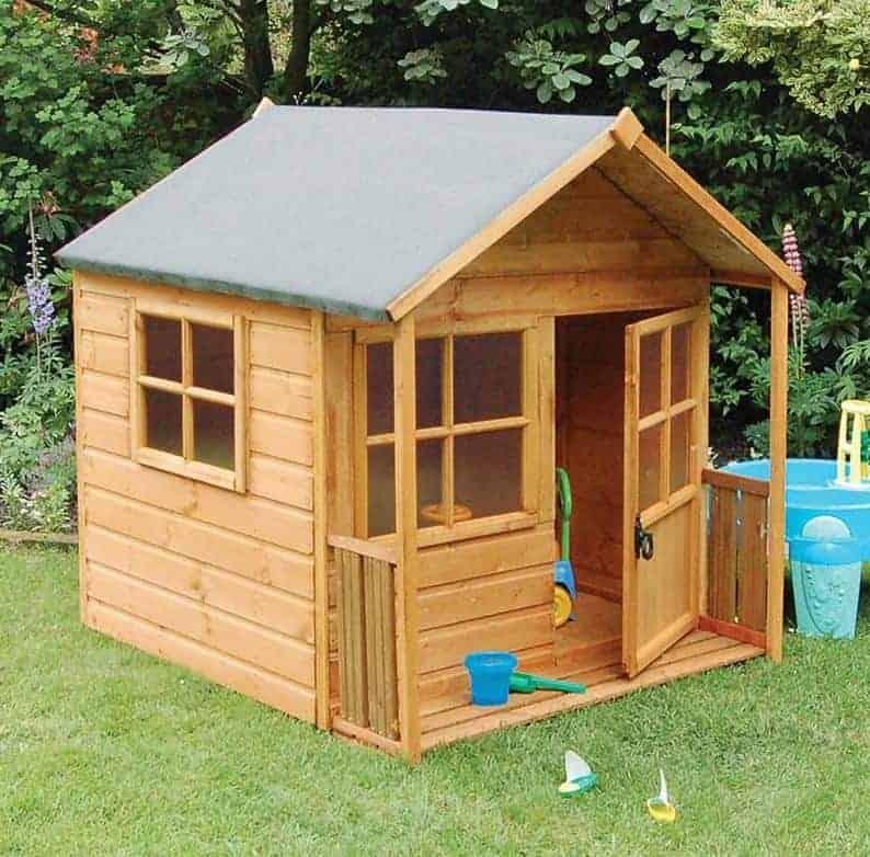 5x5 Rowlinson Playaway Childrens/ Kids Garden Playhouse