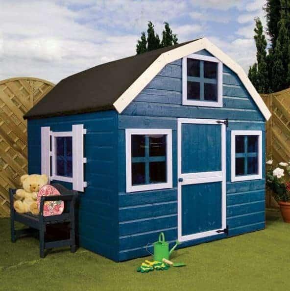 6 x 6 Waltons Honeypot Dutch Barn Garden Playhouse