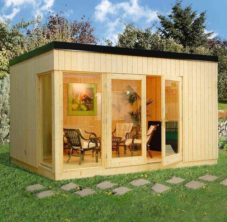 15 x 11 Palmako Paris 28mm Garden Room
