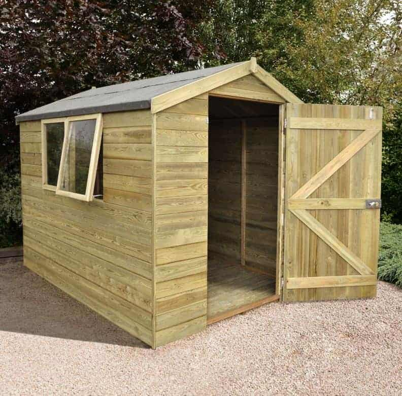 8' x 6' Shed Republic Ultimate Heavy Duty Shed - Single Door (2.42m x 1.82m)