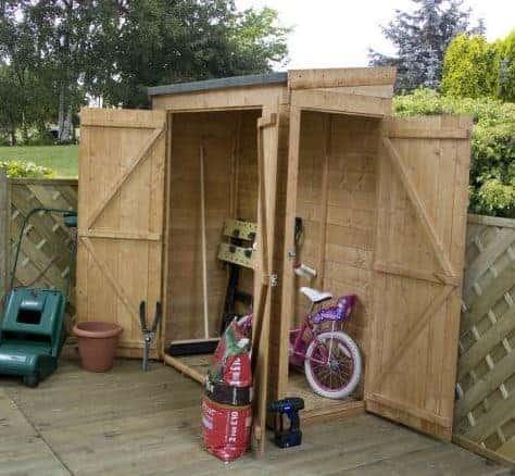 Waltons 6 x 3 Shiplap Modular Pent Garden Storage Shed
